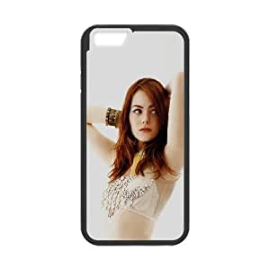 iPhone 6 Plus 5.5 Inch Cell Phone Case Black hd83 emma stone white sexy actress celebrity SUX_881223