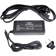 HQRP AC Adapter Charger for Samsung AD44-00116B / AD44-00117A replacement, Power Supply Cord + Euro Plug Adapter