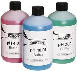 Oakton WD-35801-72 Double-Junction Epoxy Body Gel-Filled pH Electrode 0-12 pH Range All-in-One Standard 12 mm