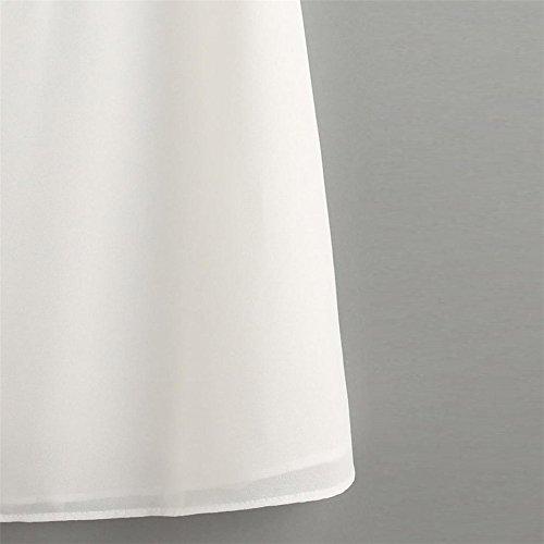 M Femme Femme Chemisier Blanc CYBERRY Blouse Chic Chemisier Blouse Imprim Femme Mousseline Blanc Caraco Femme Tropical Dentelle CSd1q1
