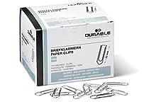 Durable 1211 - Clips de papel (32 mm, 1000 unidades)