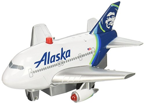 (Daron Pullback Alaska Airlines Toy with Light and Sound)