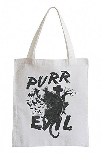 Purr evil Cooler Party Jutebeutel