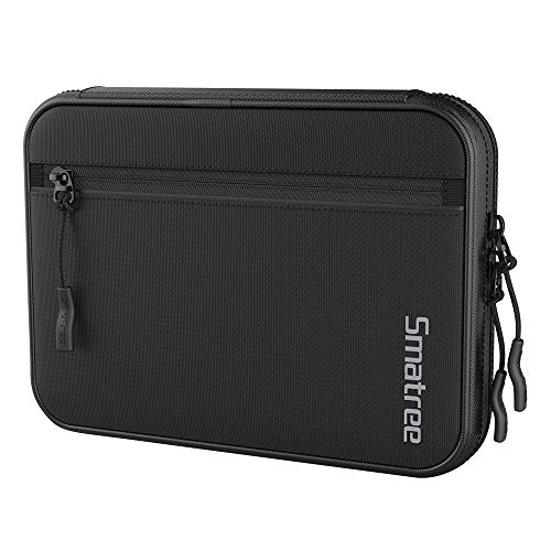 - Smatree Electronic Cord Organizer Travel Universal Case Gadget Gear Storage Pouch Compatible with 7.9'' iPad Mini/Apple Pencil/iPhone XR/iPhone X/iPhone 8 /Kindle/Hard Drive/Memory Cards