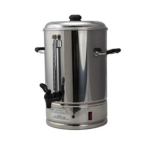 SYBO CP10 Commercial Grade Stainless Steel Percolate Coffee Maker Hot