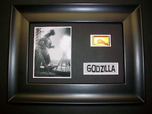 GODZILLA Framed Film Cell Display Collectible Movie Memorabilia