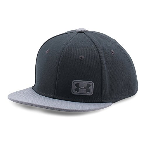 Price comparison product image Under Armour Boys' Core Snapback Cap, Black/Black, One Size