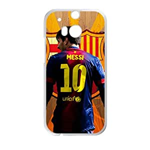 Messi 10 Unicef StylishHigh Quality Comstom Plastic case cover For HTC M8
