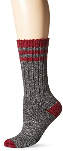 Wigwam Womens Pine Lodge Midweight Classic Outdoor Lifestyle Crew Boot Sock