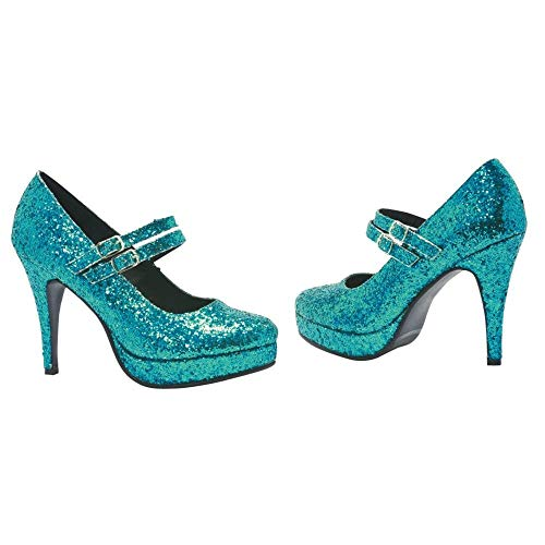 - Jane G Adult Costume Shoes Blue - Size 9