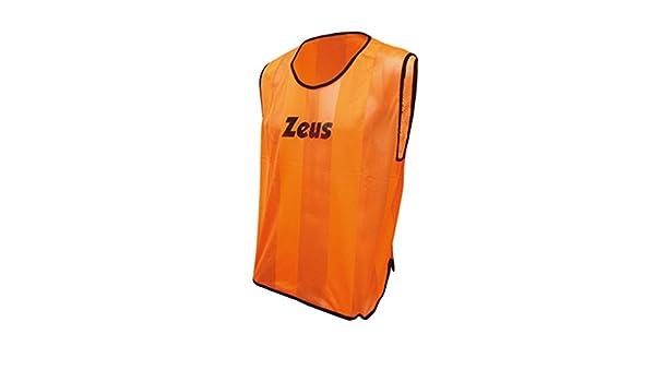 Zeus Casacca Promo Peto de F/ùtbol Peto de Entrenamiento Chalecos para hombre Training Sport Pegashop