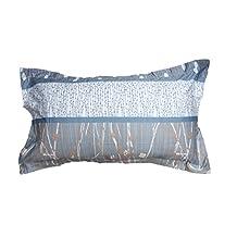 Blue Night 100% Cotton 2 X King Pillow Shams (Pair)