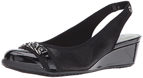 Fabric Klein Women's Anne Fabric Curve Multi Black Pump 0qx1Zn8