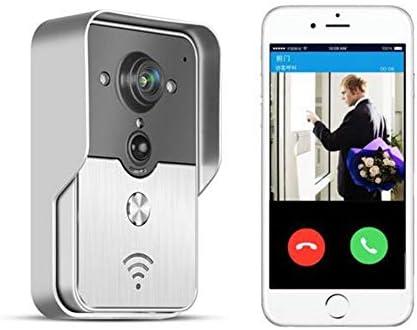 Doorbells Smart WiFi Video Portero automático Intercomunicador inalámbrico 3G 4G iOS Android para Smartphone, IP3 Impermeable, visión Nocturna Desbloqueo de Audio bidireccional: Amazon.es: Deportes y aire libre