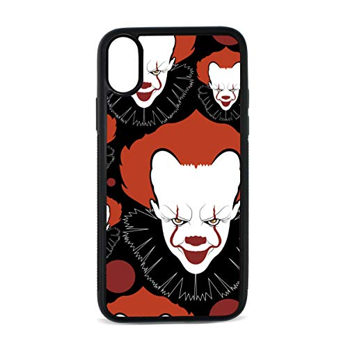 Iphone Clown Spanish Culture Mexican Festival Skull Art Design Retro Flower Digital Print Tpu Pc Pearl Plate Cover Phone Hard Case Accessories Compatible With Protective Apple Iphonex/xs Case 5.8 Inch