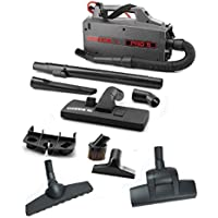 Oreck Pro 5 - BB900 Commercial Carpet and Hard Floor Canister Vacuum Bundle