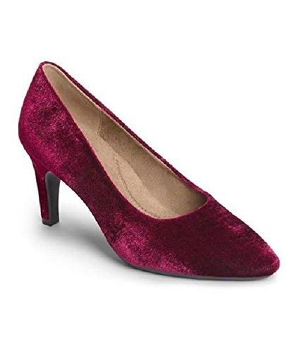 Velvet Women's Pump dress Exquisite Aerosoles Wine q7XwRRd
