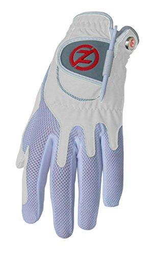 Zero Friction Women's Golf Gloves, Left Hand, One Size, White