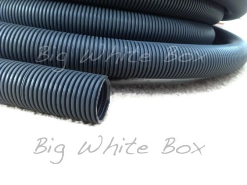 8 Metres Caravan / Motorhome convoluted grey waste water pipe - 28.5mm ID Big White Box UKASNCMBA9172