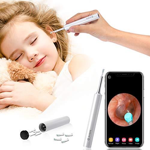 Earwax Removal Otoscope, Wireless Ear Clean Endoscope Earwax Removal Tools with WiFi HD Inspection Waterproof Ear Camera…
