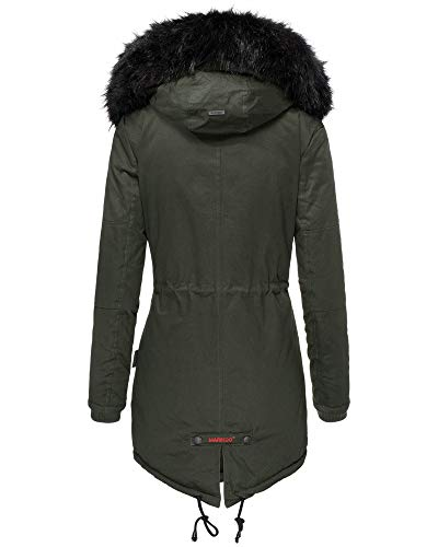Mujer Para Verde Verde Marikoo Mujer Chaqueta Mujer Para Chaqueta Marikoo Marikoo Chaqueta Para 4Exqdd