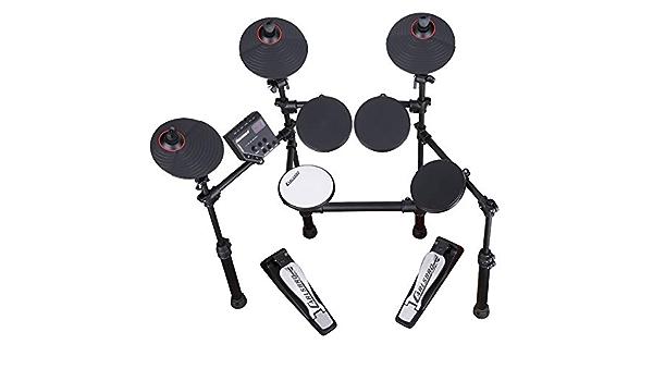 Carlsbro CSD100 Kit de tambor digital electrónico MAPEX Taburete Oferta actualizada!