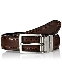 Dockers Big Boys  vestido cinturón reversible 07f00aab2ad2