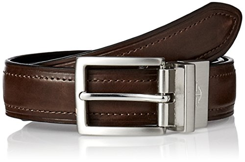 Dockers Men's Big Boys' Dress Reversible Belt,Brown/black,Medium/26-28 Inches