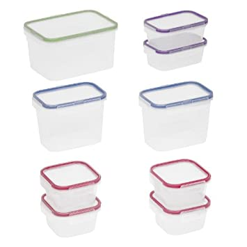Food Network 18-pc. Storage Container Set  sc 1 st  Amazon.com & Amazon.com: Food Network 18-pc. Storage Container Set: Food Savers ...