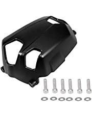 Aramox Cylinder Cover, Motorcycle Gas Cylinder Head Guards Engine Falling Protector Cover for R NineT 2014-2018 R1200GS 2010-2012 oil cooling (Left and Right)