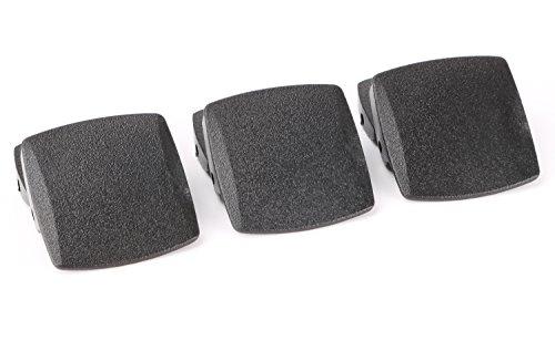 - JASGOOD YKK Plastic Buckle Nylon Canvas Web Belt Plastic Buckle for 1.5inch Wide Belt(set of 3)
