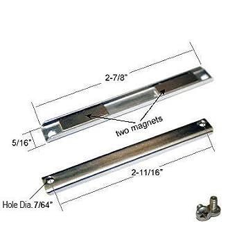 Shower Door Replacement Magnet with Screws  sc 1 st  Amazon.com & Shower Door Replacement Magnet with Screws - Shower Latch - Amazon.com