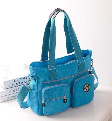 Amazon.com: Women Messenger Bags Waterproof Nylon Small Thin ...
