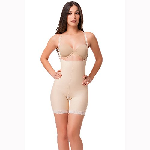 Isavela BE08 Stage 2 Enhancer Body Suit & Suspenders-Med-Black from Isavela
