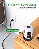 Power Strip Tower Extension Cord 16.4FT Surge