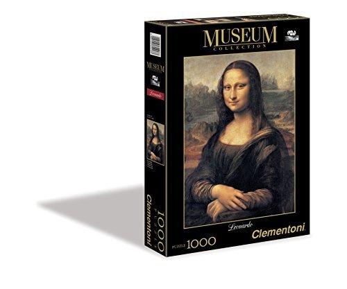 Mona Lisa 1000 Piece Leonardo da Vinci Jigsaw Puzzle by Clementoni by Piatnik