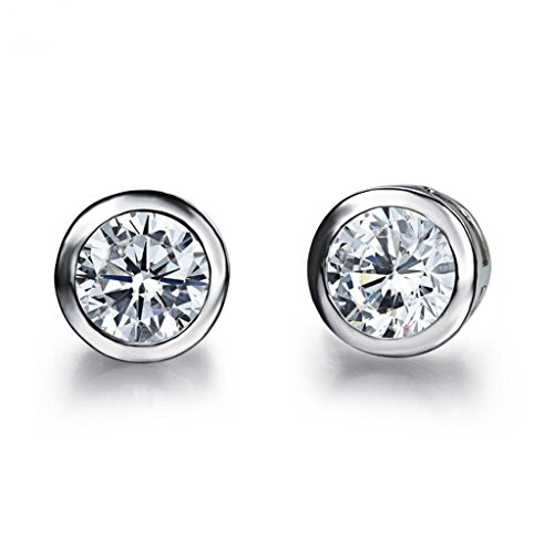Earring Feraco Jewelry Platinum Sterling