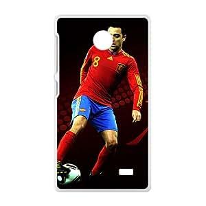 EROYI Soccer FC Barcelona Hernandez Fc BarAIA White Phone Case for Nokia Lumia X