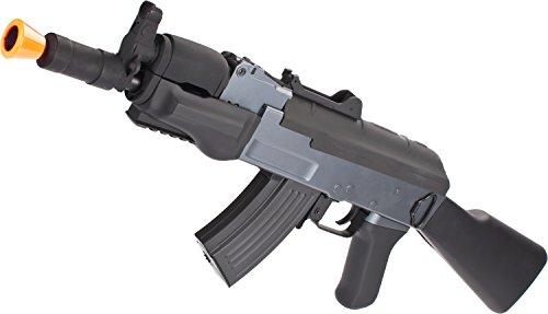 Evike - AK Beta Spetsnaz Airsoft AEG Rifle by CYMA w/Full Stock