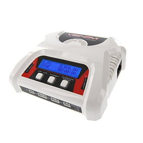 Venom Racing 0683 2-4 Cell AC/DC Lipo Battery Balance Charger ()