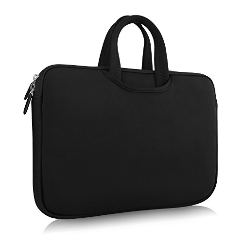 CUTRIP Carry Bag Handbag for 14.1-15.6 inch Portable DVD Player, Laptop and Tablet-Black (15.6 inch)
