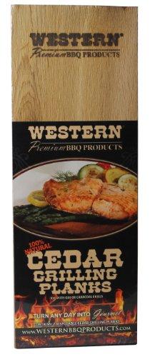 WESTERN 90210 Cedar Grilling Planks by WESTERN