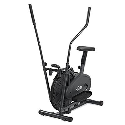 Akonza Elliptical Bike 2 IN 1 Cross Trainer Exercise Fitness Machine Home Gym Workout