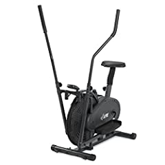 Get in shape now from the comfort of your own home with the latest in fitness technology! It provides a unique and innovative design that allows for the motions of elliptical cycling and rowing, for a great upper and lower body cardiov...
