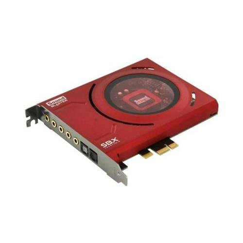 Creative Labs 70SB150000000 Sound Blaster Z Sound Card 5.1 Channels 24-bit PCI Express by Creative Labs
