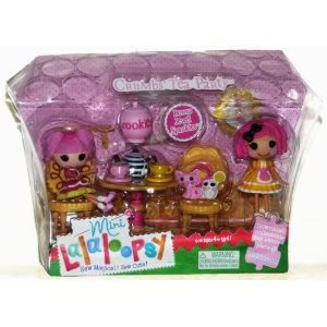 Toy / Game Cool MGA Mini Lalaloopsy Crumbs Tea Party ( 1020149 ) with Bonus Mini Jewel Sparkles人形( 2 ) B00CGG4EPI