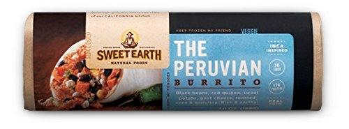 Sweet Earth Burrito, The Peruvian, 7 Ounce (Pack of 12)