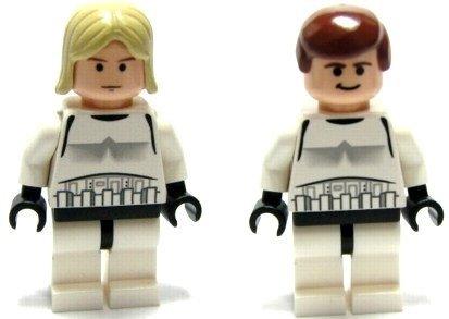 Luke Skywalker Stormtrooper Disguise (Luke Skywalker & Han-Solo (Stormtrooper Disguise) - LEGO Star Wars Figure)