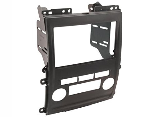 SCOSCHE NN1661B Single or Double DIN Car Stereo in-Dash Install Kit Compatible with 2009-Up Select Suzuki Equator, Nissan Xterra and Frontier XE/LE/SE Vehicles ()