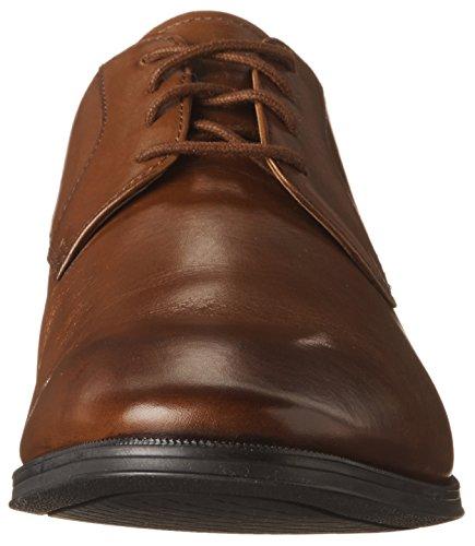 Leather Sneaker Clarks Dark Uomo Tan Sw4xTnqC